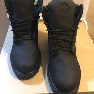 Timberlands helcor premium leather boots